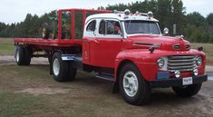 very rare 1950 Ford F8 with factory made sleeper,just a handful were produced