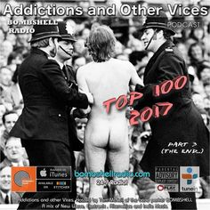 Bombshell Radio Addictions and Other Vices Podcast As The Year Comes to an end we continue our Countdown today Join us. 1:00pm-4:00pm EST bombshellradio.com Bombshell Radio Addictions and Other Vices Podcast Starting today we present our final Top 100 choices of 2017. Part Three . These are the tracks submitted or discovered that stood out to us in the New Year. Thanks to all the artists labels and PR companies and Judging panels that made this such a stellar year. I hope you enjoy…