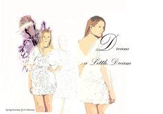 """Final Collection """"Dream a Little Dream"""" portfolio board"""