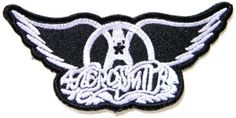 "AEROSMITH Music Band Logo Heavy Metal Punk Rock Music Jacket T-shirt Patch Sew Iron on Embroidered Badge Sign Cloth Size 3.75""Width x 1.75""Height koyjung http://www.amazon.fr/dp/B00IQUK40M/ref=cm_sw_r_pi_dp_DTqovb19YCZ1E"