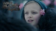 A brand new clip from War for the Planet of the Apes depicts Caesar assembly the human orphan Nova. Within the unique Planet of the Apes, Nova was a mute hum. Dawn Of The Planet, Planet Of The Apes, Fox Movies, Indie Movies, Recent Movies, Latest Movies, Coming To Theaters, Sci Fi Films, Alvin And The Chipmunks