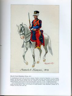 Imperial Guard: Plate 80: French Mamelukes, Private, 1813.