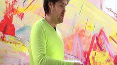 Brendan Cass in his studio in New York by Lars Bohman Gallery