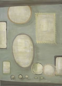Norbert Schwontowski We Make All Size of Mirrors 2006 oil on canvas, by inches Courtesy Mitchell-Innes Nash Figure Painting, Painting & Drawing, Summer Painting, Painting Still Life, High Art, Vanitas, Contemporary Paintings, Figurative Art, Artsy Fartsy