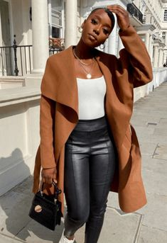 Trendy Fall Outfits, Winter Fashion Outfits, Fall Winter Outfits, Chic Outfits, Autumn Fashion, Classy Outfits For Women, Business Casual Outfits For Women, Black Girls Outfits, All Black Outfit For Work