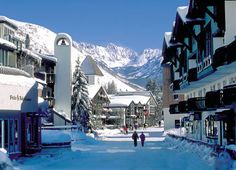 Vail Colorado is beautiful..lived in denver..