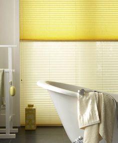 Let the Sun Shine Window Dressings, Clawfoot Bathtub, Interior Inspiration, Blinds, Home And Garden, House Design, Windows, Curtains, Bathroom