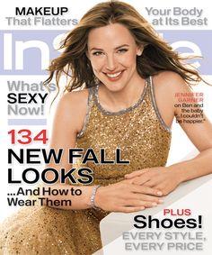 InStyle Magazine Covers: 2005 - September, Jennifer Garner from #InStyle