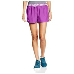 NEW Women's Under Armour Play Up Sports Athletic Shorts Heat Gear X-Large Bin 3 #UnderArmour #Shorts