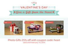 Welcome to Atlantic Photo Supplies Photo Supplies, Coupon Codes, Coupons, Valentines Day, Photo Gifts, Coding, Memories, Mugs, Heart