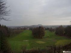 Vista panoramica di Edimburgo da Corstorphine Hill, #scozia