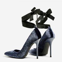0ecbd1e7a851 Womens Pointed Toe Velvet Cross Strap Shoes High Heel Party Stilettos Pumps
