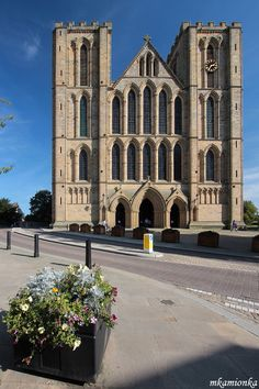 The 12th century Ripon Cathedral, Yorkshire, England