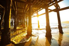 """Under the boardwalk, down by the sea...."""