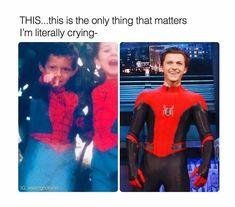 Tom Holland Always Wanted To Be Spider-Man 🕸️🕷️🕸️🕷️ Funny Marvel Memes, Marvel Jokes, Dc Memes, Marvel Dc, Disney Marvel, Fandoms, Shane Mendes, Tom Holland Peter Parker, Tommy Boy