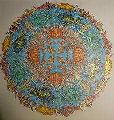 coloriage anti stress ocean perdu