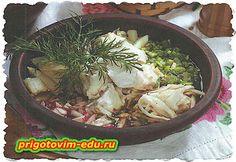 Окрошка «Уральская» с капустой и рыбой
