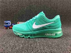 Nike Air Max Shoes Cheap - Purchase Nike Air Max 2017 Gree White for Women Low Cost Air Max Sneakers, Sneakers Nike, Nike Trainers, Basket Style, Baskets, Sneaker Store, Air Max Women, Workout Shoes, Discount Nikes