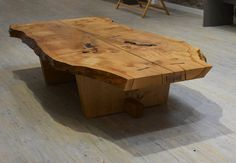 Our fine coffee table is hand crafted from locally sourced oak. Each table is unique and can be made to suit your exact measurements.