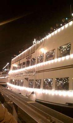 christmas ship in the ballard locks