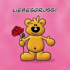 Die Homepage Der Schnuffelbären Bietet Kostenlose Elektronische Grußkarten  (E Cards) Für Romantische Grüße Zum Valentinstag Für Verliebte