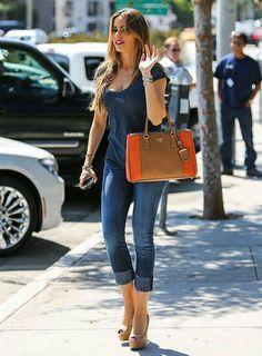 31fa25998ec17 Jean Outfits, Cute Outfits, Fashion Outfits, Womens Fashion, Cuffed Skinny  Jeans,