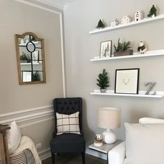 Repose Gray paint color SW 7015 by Sherwin-Williams. View interior and exterior paint colors and color palettes. Get design inspiration for painting projects. Repose Gray, Room, Family Room, Room Shelves, Diy Home Improvement, Home Decor, Paint Colors, Repose Gray Paint, Grey Paint