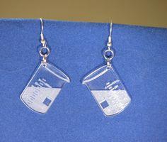 Chemistry Earrings 6 by Laseraddiction on Etsy https://www.etsy.com/listing/123911935/chemistry-earrings-6