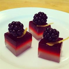 cute these are gorgeous blackberry bramble jelly shots by jelly shot ...