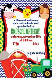 Farm Themed Party Birthday Parties Theme