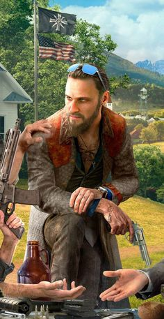 ArtStation - Far Cry 5 Primary Key Art, Petur Arnorsson Far Cry 5 Ps4, Far Cry Game, Far Cry 4, Ps4 Games, News Games, Video Games, Crying Aesthetic, Seed Art, Army Ranks