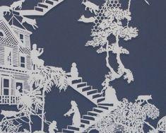 Emma Van Leest papercuts via Masters of Paper Art and Paper Sculptures