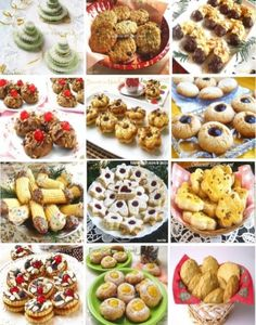 Cookies-2 Romanian Desserts, Romanian Food, Romanian Recipes, European Dishes, Sweet Pastries, Christmas Sweets, Cake Cookies, Holiday Recipes, Christmas Recipes