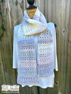 Sterling Riches Scarf - ELK Studio - Handcrafted Crochet Designs