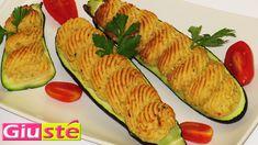<p> Les courgettes farcies sont une éxcèllente solution pour accompagner vos plats de viandes, un appéritif ou bien encore du fromage. Nous voulons donc vous proposé une version délicieuse et savoureuse avec le remplissage de purée aux courgettes et pommes de terre. Trés faciles à realisées – 4 courgettes de …</p>