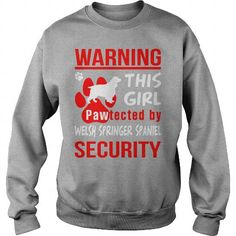 PAWTECTED BY WELSH SPRINGER SPANIEL SECURITY  CREW SWEATSHIRTS T-SHIRTS, HOODIES ( ==►►Click To Shopping Now) #pawtected #by #welsh #springer #spaniel #security # #crew #sweatshirts #Dogfashion #Dogs #Dog #SunfrogTshirts #Sunfrogshirts #shirts #tshirt #hoodie #sweatshirt #fashion #style