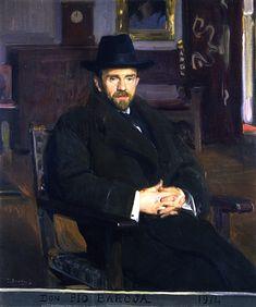 - Retrato de Don Pio Baroja by Joaquín Sorolla.