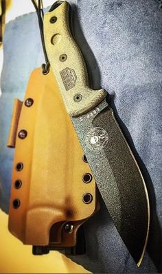 ESEE Knife ESEE-5P Black Plain Edge Fixed Blade, Sheath, Clip Plate - Everyday Carry Gear