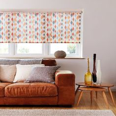 """Made to Measure Roller Blind """"Ribbon"""""""