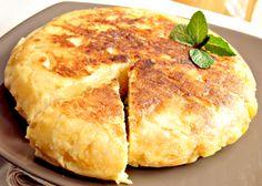 L'elegante Tortilla di Patate dello chef.