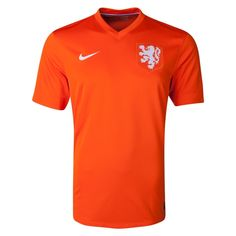 According to Nike: Featuring bold new design details, the 2014 Dutch home kit captures the unique spirit and enduring pride of Dutch football while offering the best in performance innovation.To celebrate the 125th anniversary of the founding of the KNVB (Royal Dutch Football Association), the 2014 jersey sports a striking new crest. This features an enlarged white lion to symbolize a new era in Dutch football and the team's core values of simplicity, honor and unity.