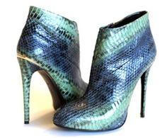 Roberto Cavalli: Snake Boots