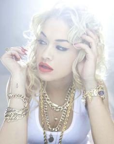 Rita Ora. Gorgeous.