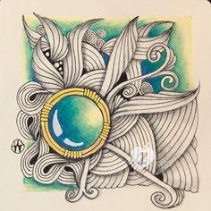 "Zenjoy - Hanny Nura CZT14 (@zenjoy_hanny_nura) auf Instagram #muster #musterzeichnen #zentanglepattern #zenjoy…"""