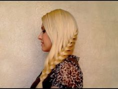 French braid tutorial: how to braid your own hair Everyday school hairstyle for long hair