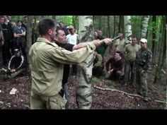 Disarmed by a tree Sysytema Russian Martial Art by Vladimir Vasiliev #systema