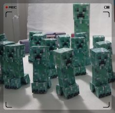 papel com estampa minecrafts - Pesquisa Google