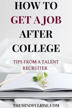Ready to start making a living after school, but you feel lost? Here are some tips on how to get a job after college. I have career advice from a talent recruiter Kathryn Freund, who talks about everything from resumes to websites to the interview process and interview questions. Read on!