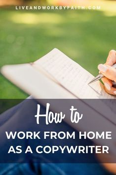 If you've got great writing skills, you might be able to make it as a copywriter. Learn what it takes to work from home to make money as a copywriter. Work From Home Jobs, Money From Home, Home Based Business, Online Business, Business Tips, Business Quotes, Importance Of Time Management, Commercial, Writing Skills