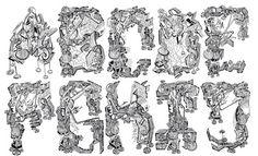 la cuisine du graphiste: Typographie